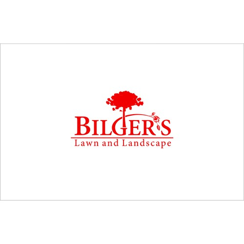 Create the next logo for Bilger's Lawn and Landscape