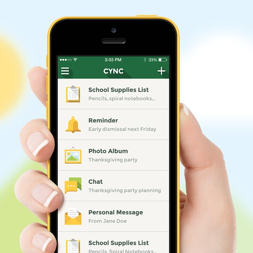 App Design of a Social Network for School Kids