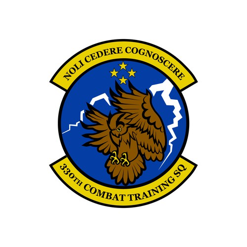 Logo for a training squadron in the United States Air Force.