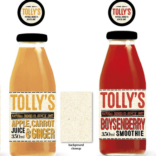 Tolly's natural drinks
