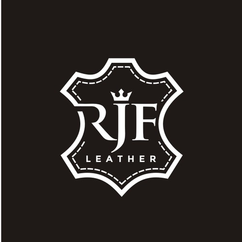 LOGO FOR RJF LEATHER