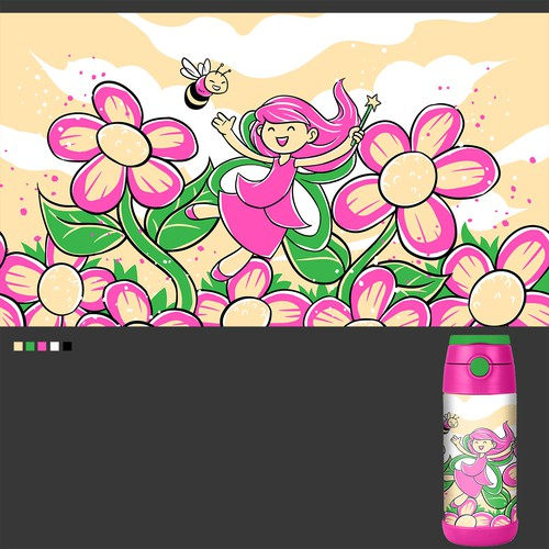 Kids Bottle Design