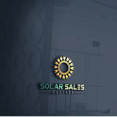 logo for my online solar sales training