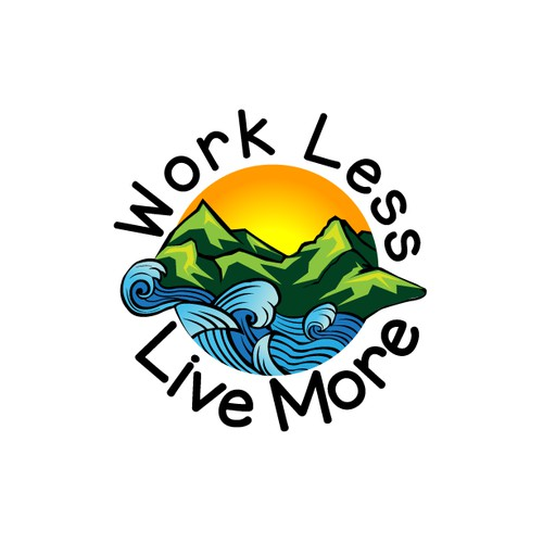 Design illustration for Work Less Live More