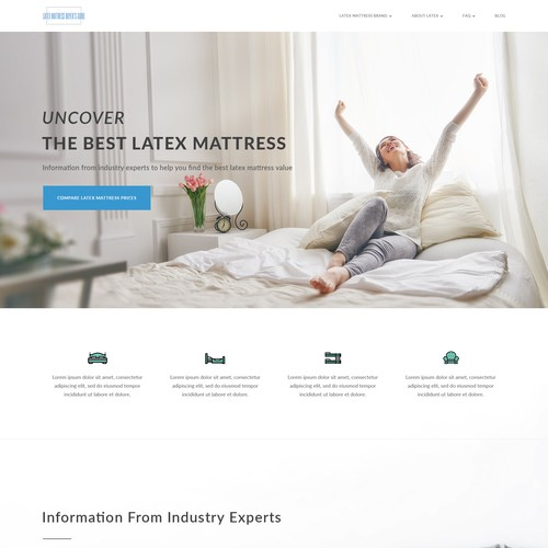 Website for Latex Mattress Buyer's Guide