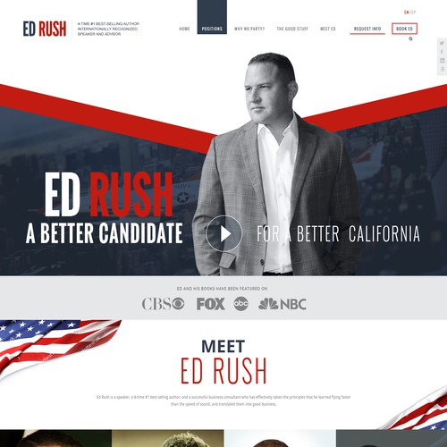 Best Looking Political Campaign Site Ever