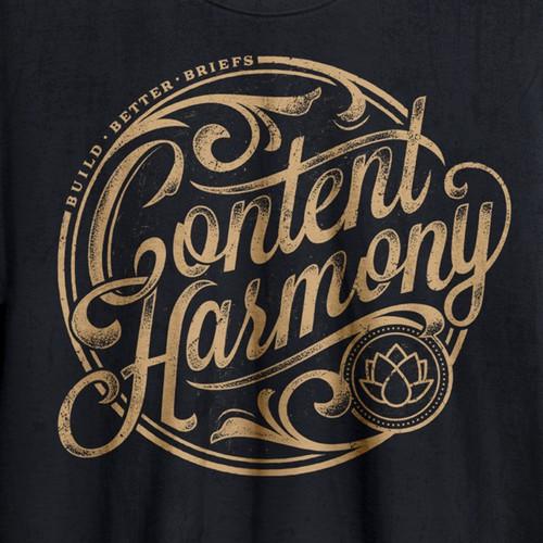 Content Harmony t-shirt design