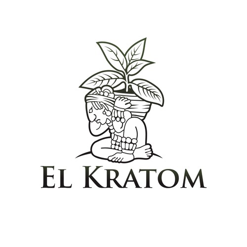 "Logo For ""El-Kratom"""