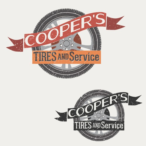 Create the next logo for Cooper's Tires & Service