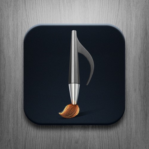 Icon design for app that lets you draw to create music