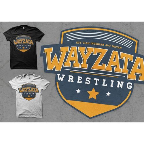 Create the next logo for Wayzata Wrestling