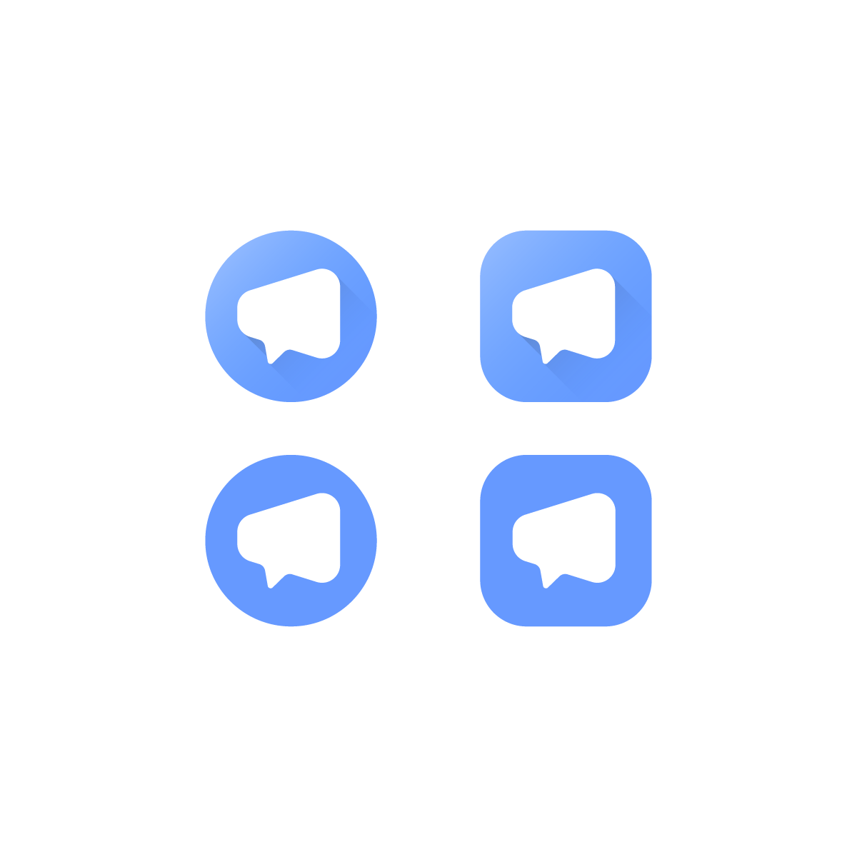 Create a Logo for a new Chat App