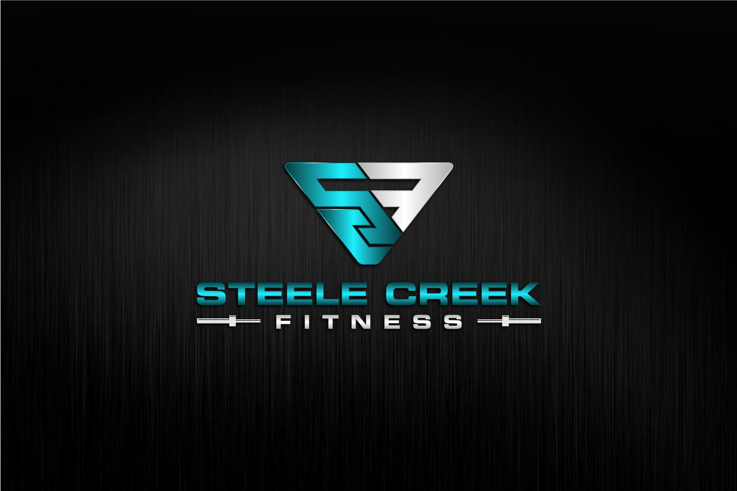 Create a clean, simple logo for a personal training fitness studio.