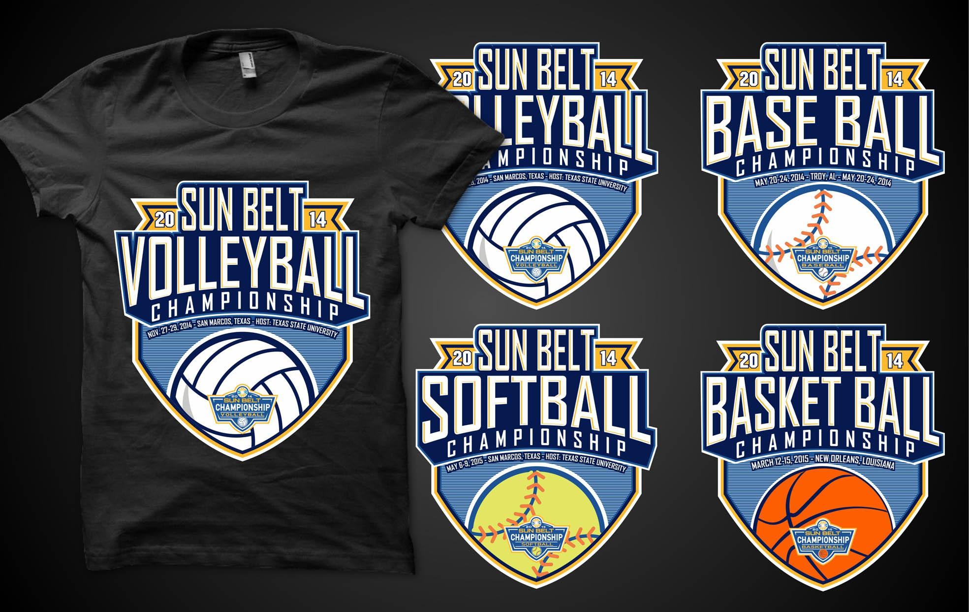 Sun Belt Championships T-shirt Design Contest