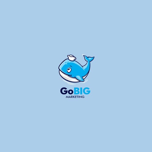 Logo for GoBig Marketing