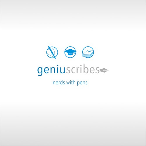 Simple and sleek logo, customizable for 3 different brand sub-categories