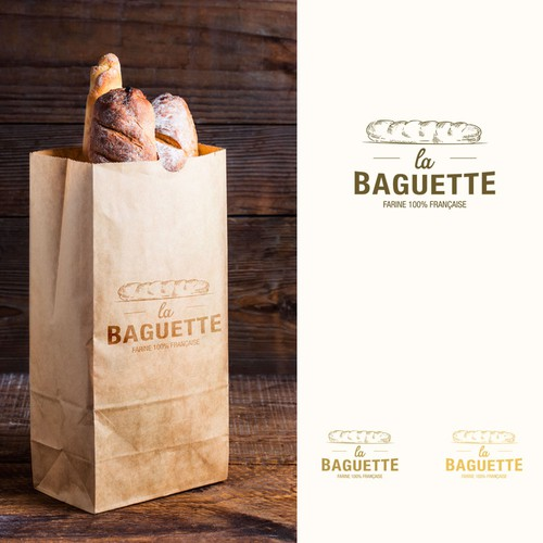 Logo for bakery product