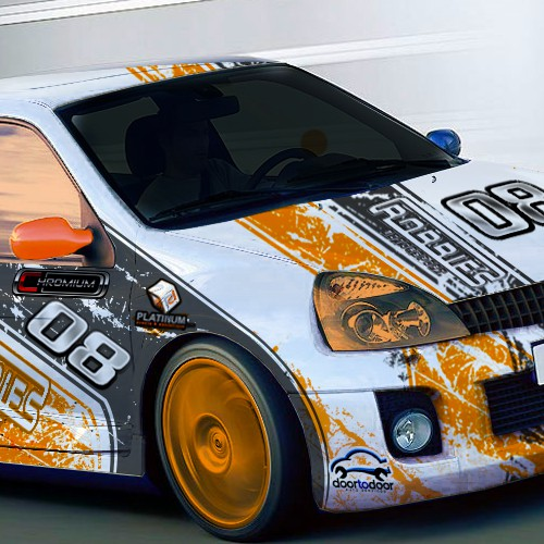 Design a race car Wrap! Up to the challenge?