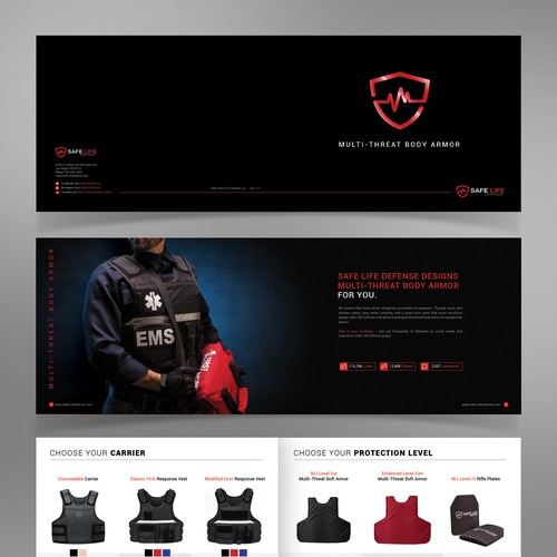 Safe Life Defense Body Armor Brochure