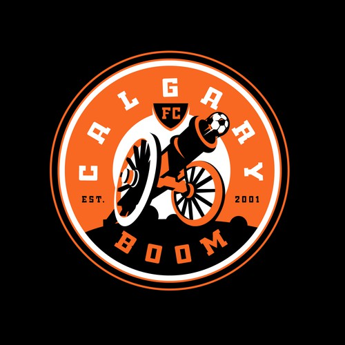 Calgary Boom Soccer Logo