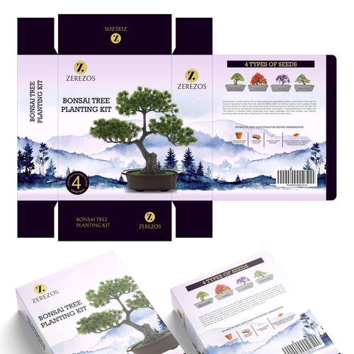 Bonsai Tree seed box