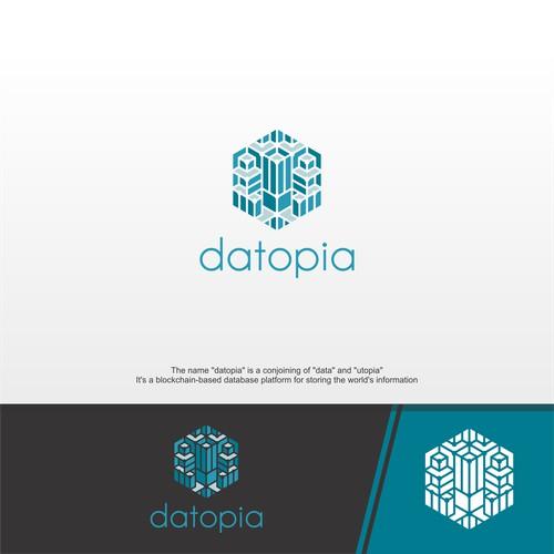 Modern Logo concept for Datopia brand