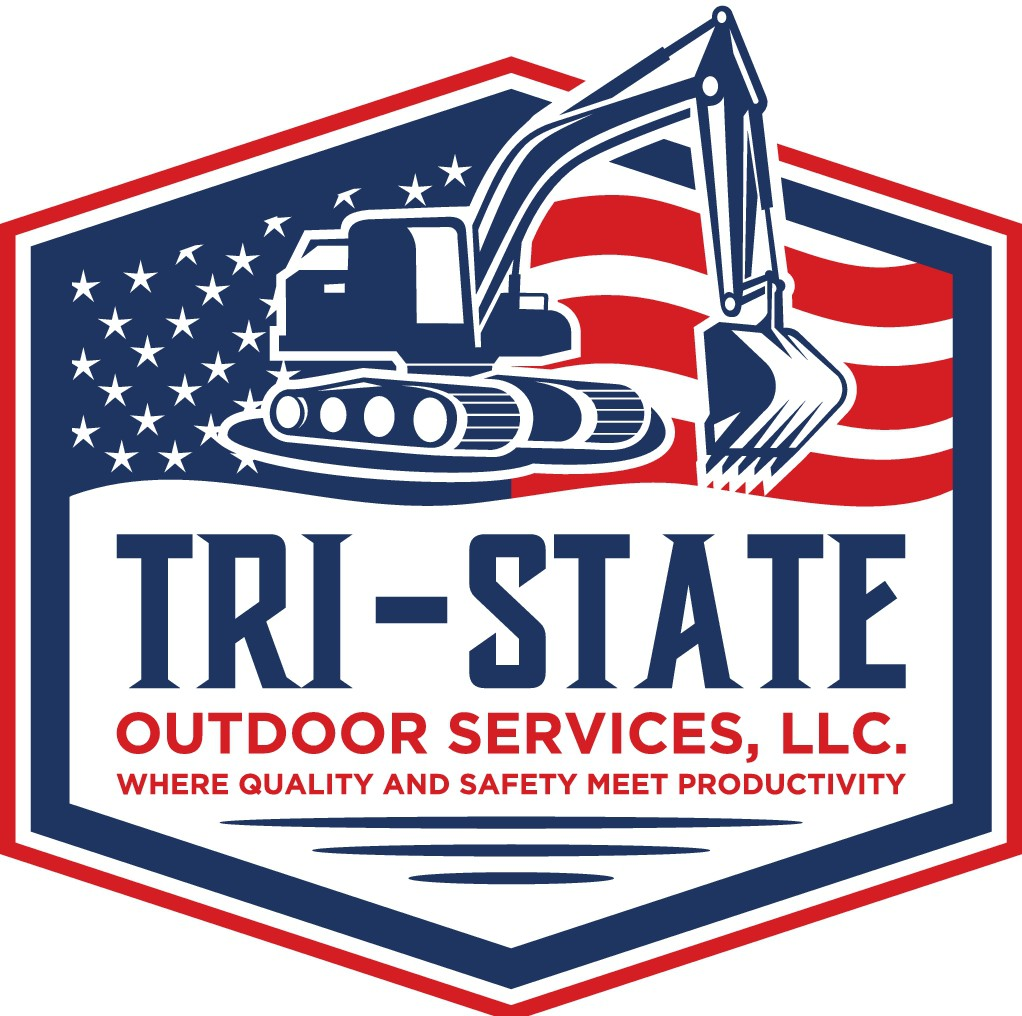 Create a unique logo for a thriving outdoor service company.