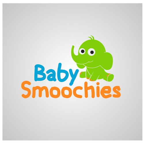 Logo Concept for Baby Smoochies
