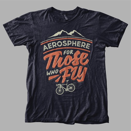 Design Aerosphere's latest T-shirt