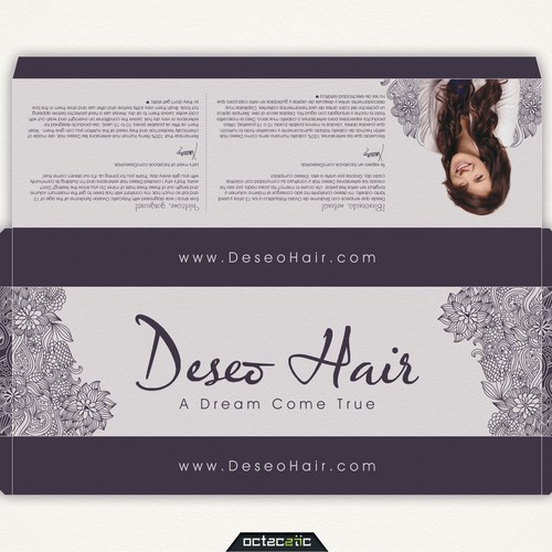 Deseo Hair Packaging Design