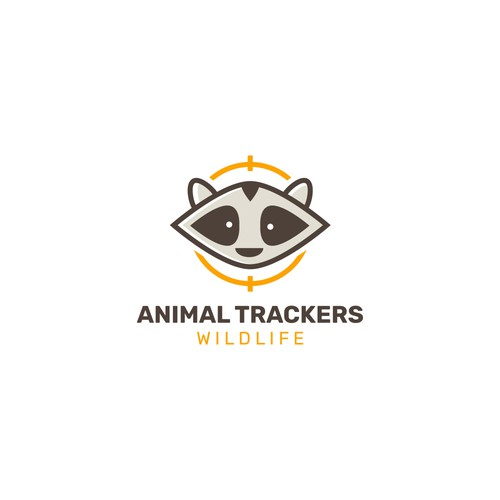 Animal Trackers Wildlife logo concept #1