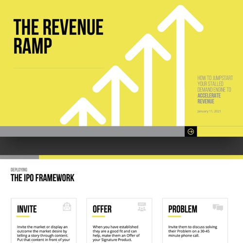 Design a Powerpoint Template for Demand Accelerated