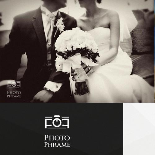 Build a logo for a Father/ Son Event photography team, Photo Phrame
