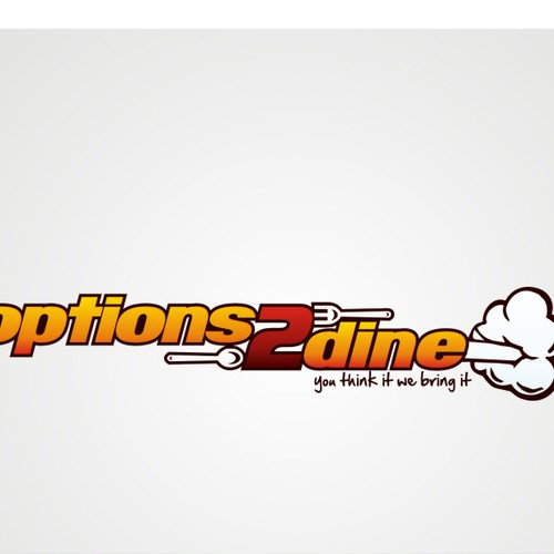 option2dine logo design