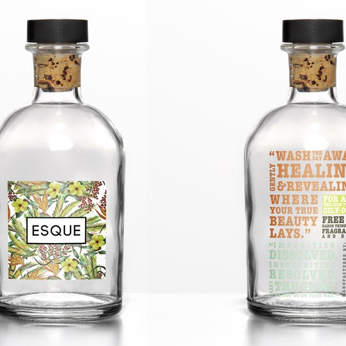 Packaging design for Esque