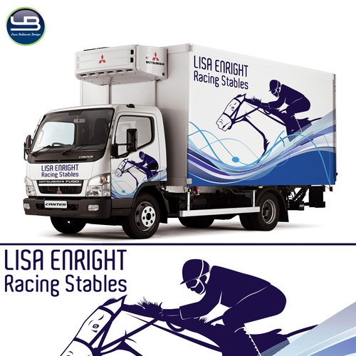 design for Lisa Enright Racing Stables