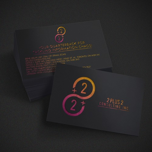 Business Card 2+2