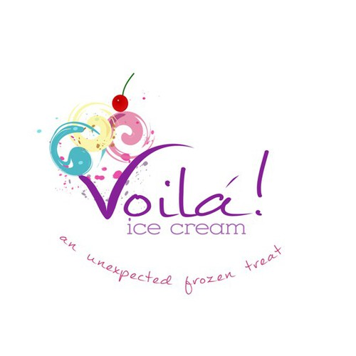 Create the next logo for Voila! Ice Cream