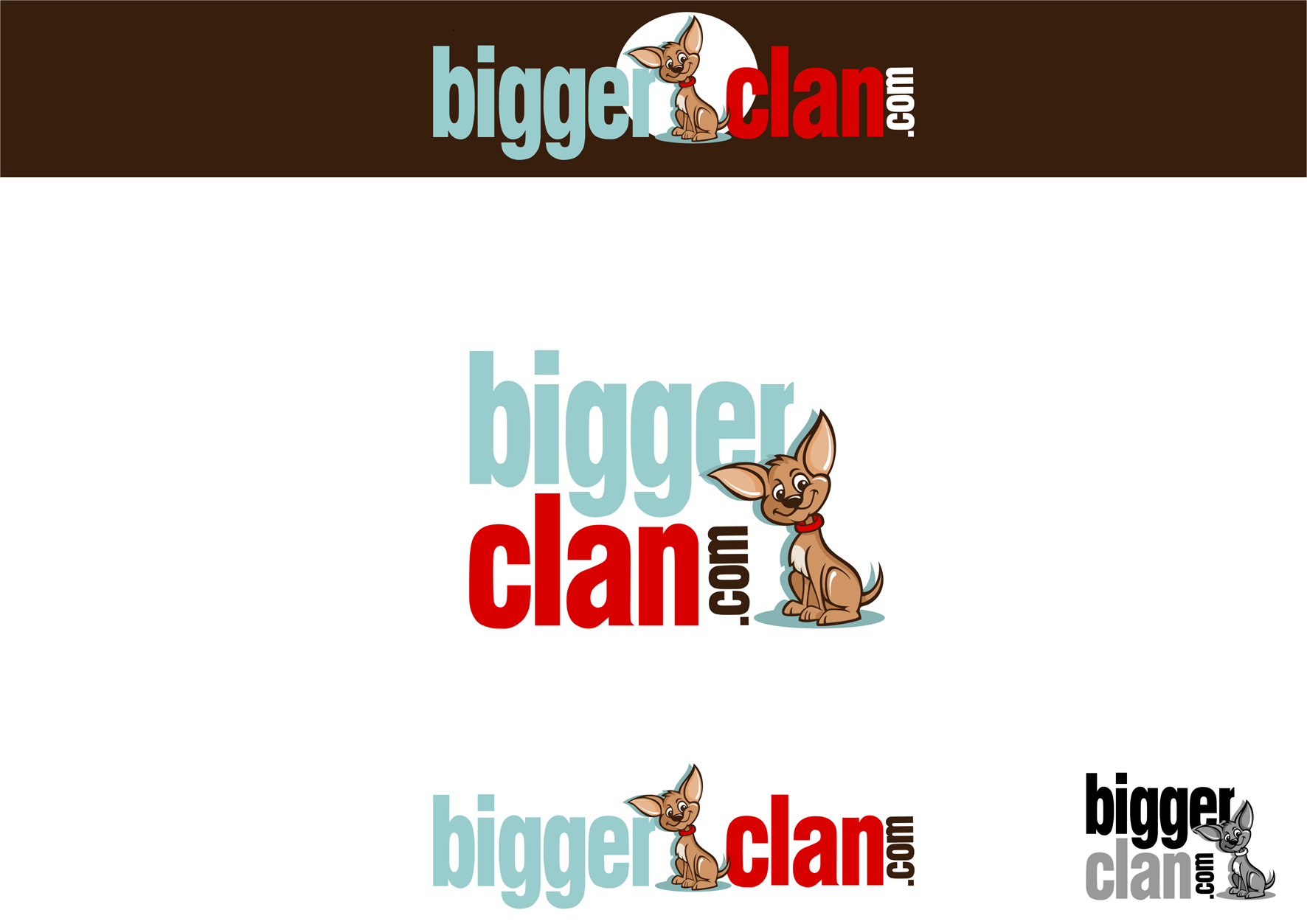 Logo for a new online pet store