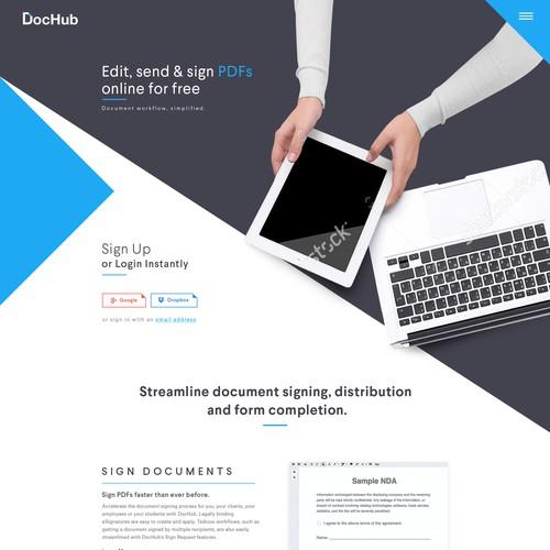 DocHub website