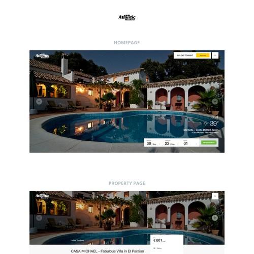 Property Booking website