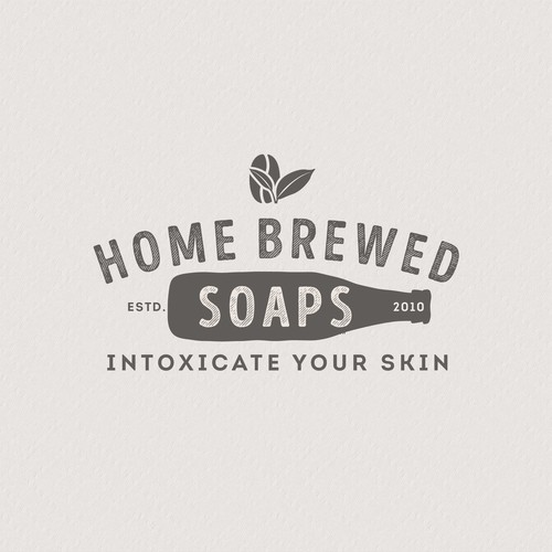 Natural Soaps Logo that fits the current label
