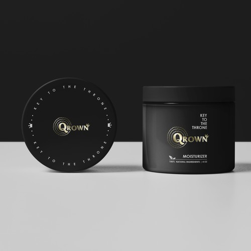 label for Qrown moisturizer