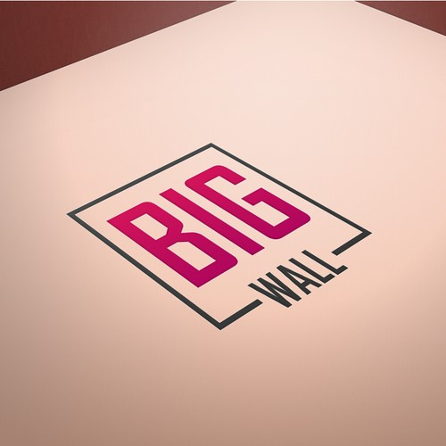 BIG WALL  - Logo Design