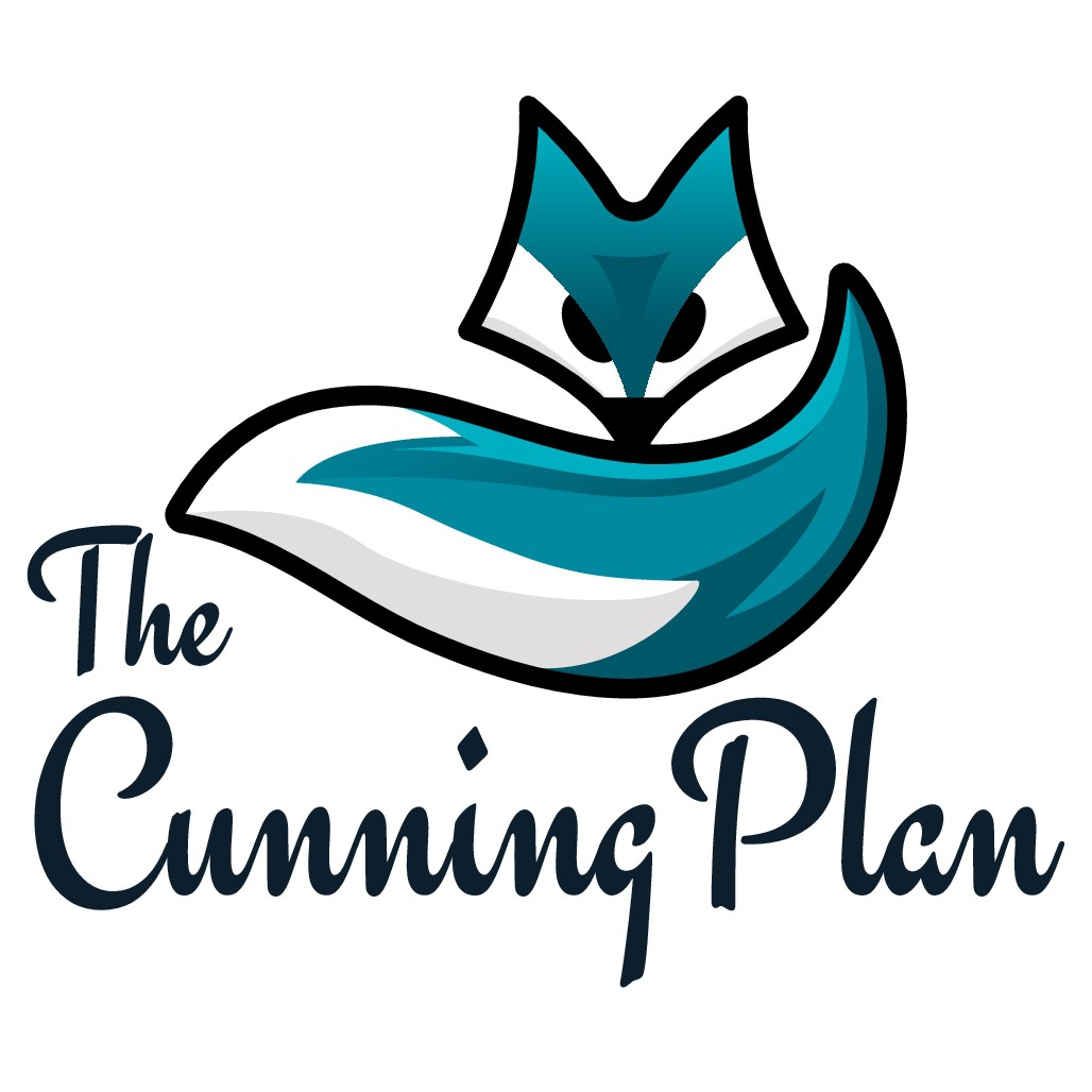 """Design a logo for a luxury new catamaran called """"The Cunning Plan """"."""