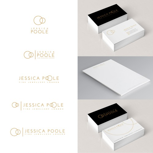 Create a modern sophisticated logo for a new Fine Jewellery Brand