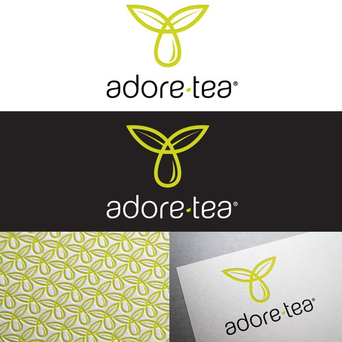 Adore Tea with a new logo