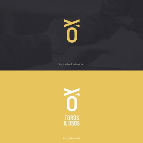 corporate image and consulting brand logo - Bulls and Bears / imagen corporativa y logo de marca de consultoria - Toros y Osos