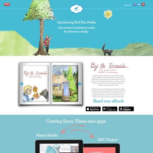 Bird Run Media Landing Page