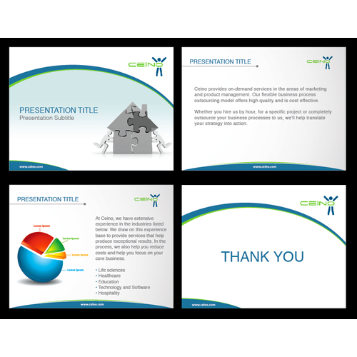 Help Ceino Technologies Inc. with a PowerPoint Template